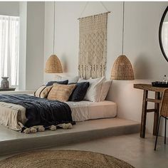 We end where we started today with another picture from this beautiful hotel in Rhodes ✌️ Good night   @casacookrhodes  #interior_delux #bedroom #bedroomdecor #bedding #throw #soverom