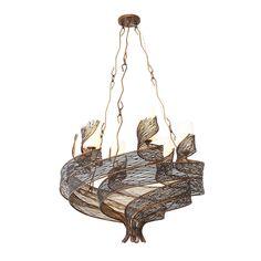 Varaluz Flow 6-light Chandelier - 16643475 - Overstock.com Shopping - Great Deals on Varaluz Chandeliers & Pendants