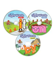 Take a look at this Sight Words DVD Set today!