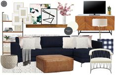 Contemporary, Modern, and Midcentury Modern Living Room by Havenly