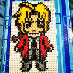 Edward Elric made of beads 😍