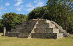 Mayan ruins at Copan : San Pedro Sula, Honduras