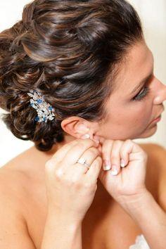 My sisters wedding hairstyle :)