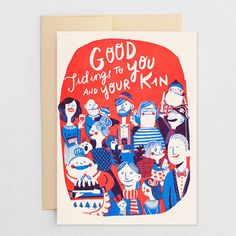 Good Tidings to You and Your Kin | 40 Of The Cutest Holiday Cards You Ever Did See