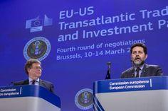 EU og USA forhandler om frihandelsaftale i det skjulte