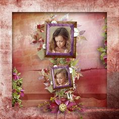 "CAJOLINE-SCRAP: Kit ""Sweet fall"" - Bundle"