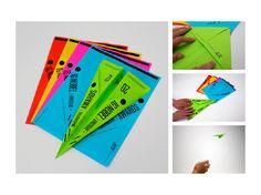 triangle / paper planes