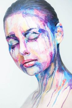 Collection of face art portraits of Alexander Khokhlov - Body Art Alexander Khokhlov, Fantasy Eyes, Fantasy Makeup, Disguise Art, Art Visage, Extreme Makeup, Make Up Art, Maquillage Halloween, Makeup Transformation