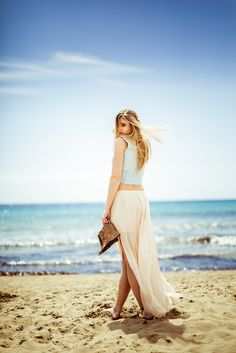Kasia Syska: Beach and Photography. Model Cecile, Photography Gosia Janik