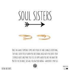 Bryan Anthonys Soul Sisters Best Friend & Sister Delicate Arrow Ring Halves. $38