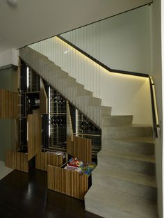 15 Ways How to Use the Space Under Stairs - Dreamer Attraction