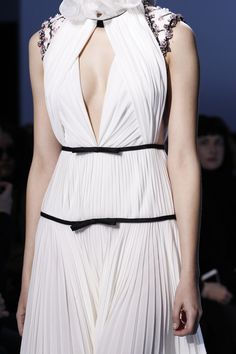 Giambattista Valli....Love these details. Recreate 1-2 to fit your style.