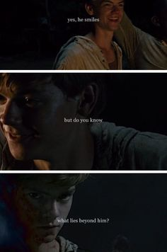 newt, the maze runner