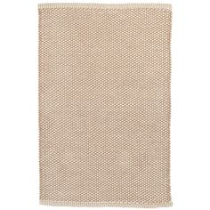Test drive this rug in your space.Order a swatch by adding it to your cart.Subtle in texture and color, this indoor/indoor outdoor rug is a natural for almost any room of your home. Durable and easy to clean, it will maintain its good looks for years to come.
