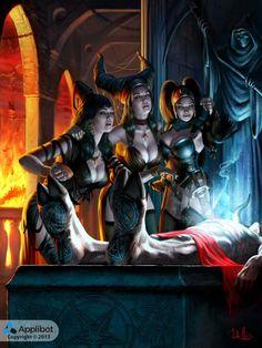 As incríveis ilustrações de fantasia para games de Chris Rallis