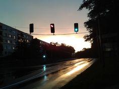 Rainy morning, Gödöllő