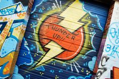 Thunder Graffiti in OKC