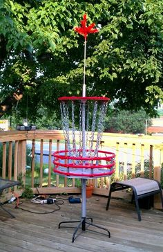 Homemade disc golf baskets are a terrific, inexpensive way to bring this sport to your backyard. Practice makes perfect, and a homemade touch makes it more personable!