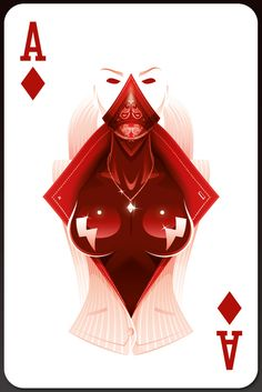 Smokin' Aces by leon ryan, via Behance