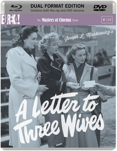A Letter to Three Wives - Blu-Ray (Masters of Cinema Region B) Release Date: June 29, 2015 (Amazon U.K.)
