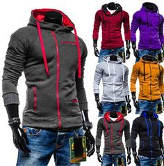 2016 Men's Colorful Pullover Hoodies