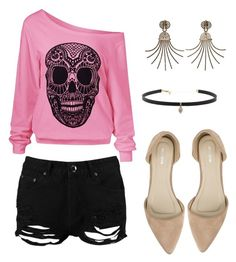 """""""Shorts"""" by ashieanna-ramnath on Polyvore featuring Boohoo, Nly Shoes, Carbon & Hyde and Lanvin"""