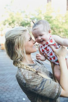 The Sweatiest Weekend - Barefoot Blonde by Amber Fillerup Clark First Baby, Mom And Baby, Mommy And Me, Baby Kids, Amber Fillerup Clark, Little Presents, Mother Family, Barefoot Blonde, Mommy Style