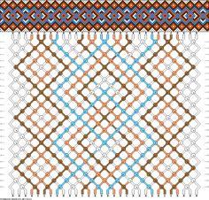Muster # 84011, Streicher: 30 Zeilen: 24 Farben: 4