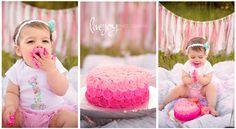 1 Year Cake Smash | LiveJoy Photography | Oregon