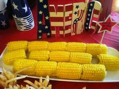 Perfect for an All American Themed Party!