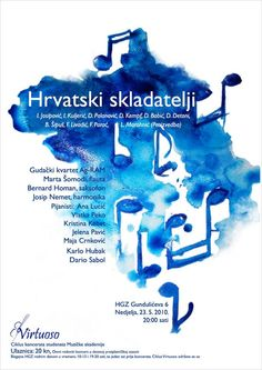 VIRTUOSO Classical Music Posters By Laura Bosazzi Via Behance