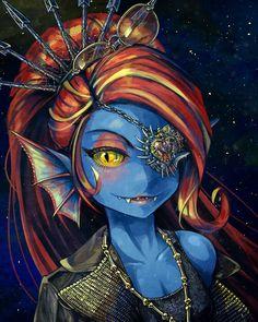 Tarjan Undyne by saturnspace.deviantart.com on @DeviantArt [Undertale]
