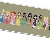 Pixel People - Storybook Princesses.