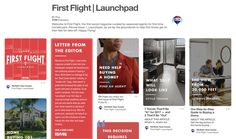First Flight is a great new resource RE/MAX agents can provide first-time homebuyers to help them navigate their real estate journey. Real Estate One, Home Buying Process, Tv Ads, Social Media Channels, First Time Home Buyers, Get Started, Illinois, Dreaming Of You, Lettering