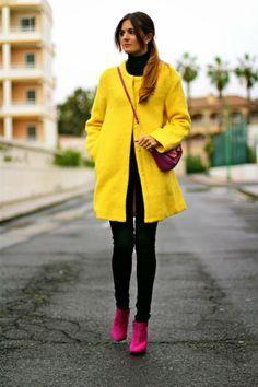 Marilyn's Closet - FASHION BLOG: Yellow Coat