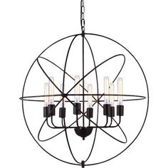 You'll love the Vienna 8-Light Foyer Pendant at Joss & Main - With Great Deals on all products and Free Shipping on most stuff, even the big stuff.