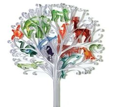 quilling tree of life
