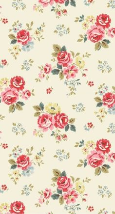 Trendy Flowers Illustration Pattern Graphics Rifle Paper Ideas - Trend Topic For You 2020 Flower Iphone Wallpaper, Flowery Wallpaper, Flower Backgrounds, Pattern Wallpaper, Wallpaper Backgrounds, Phone Backgrounds, Mobile Wallpaper, Flower Illustration Pattern, Illustration Blume