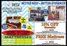 Kidz Bedz coupons, 10% off storewide