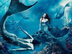 Fantasy Art Mermaid Puter Desktop Wallpapers Pictures Images Design 1600x1200 Pixel
