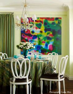 Dining Out In Your New Navy Blue Room