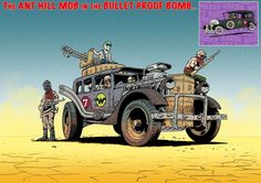 Wacky Races Fury Road style by Mark Sexton - Album on Imgur