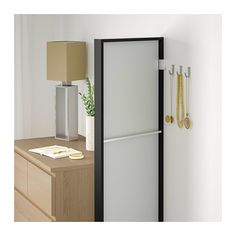 NISSEDAL Speil - svart - IKEA
