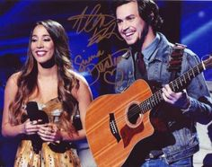 Alex & Sierra In-person Autographed Group Photo X-factor Winners: Collectibles & Fine Art