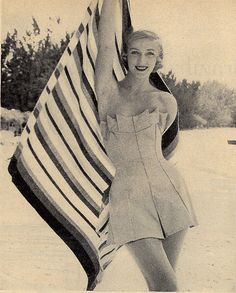 Vintage swimsuit inspiration...