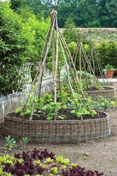 French Potager Garden 24 - fancydecors #GardenDesign