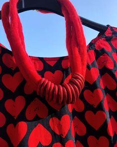 "Sissi Brunner-Schützelhofer auf Instagram: ""❤️ Red Hearted Dress❤️ & handmade necklace @chic.by.sissi . . . . #handmadenecklace #feltednecklace #felting #rednecklace #redcolor…"" Red Necklace, Sissi, Clay Tutorials, Shopping Mall, Handmade Necklaces, Felting, Red Color, Polymer Clay, Chic"