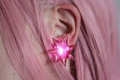 DIY Jem and the Holograms Earrings                                                                                                                                                      More