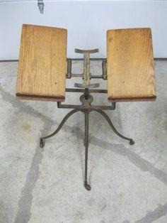 Found on EstateSales.NET: Antique/Primitive Dictionary Stand