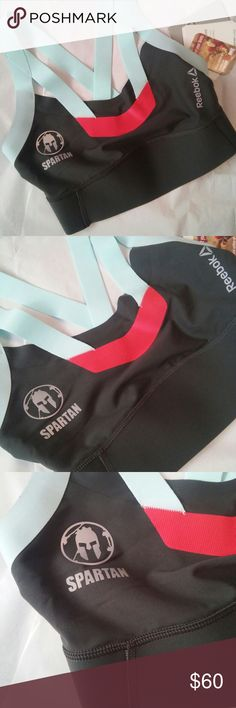 Spartan Reebok sports bra Brand new with tag, Reebok Spartan sports bra. Seamless for a smooth fit, fitted for maximum support, playdry to stay dry from sweat, and anti microbial Reebok Intimates & Sleepwear Bras